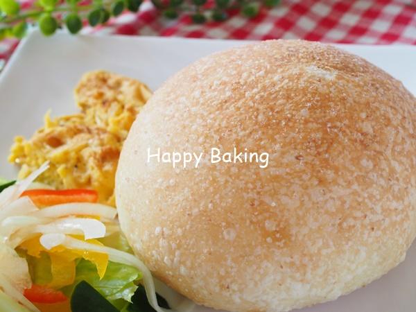塩パンを朝食に♡焼きたては香りが格別♪【フルーツ酵母・自家製天然酵母・パン教室|大阪・奈良】