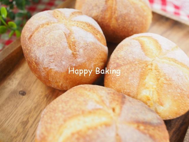 サンドイッチにしてもおいしいドイツパン・カイザーゼンメル♪【フルーツ酵母・自家製天然酵母・パン教室|大阪・奈良】
