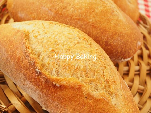 食事にピッタリなパン自家製天然酵母【クッペ】おいしくできました♪【フルーツ酵母・自家製天然酵母・パン教室|大阪・奈良】
