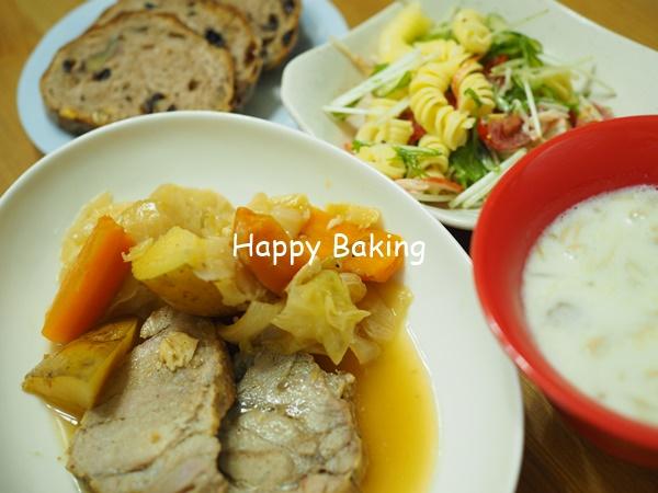 【自家製天然酵母】パンにピッタリなポットロースト【フルーツ酵母・自家製天然酵母・パン教室|大阪・奈良】