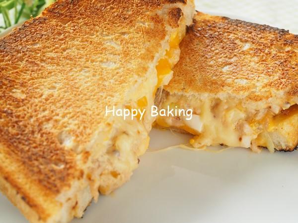 自家製天然酵母食パンでツナメルト♡レシピあり【フルーツ酵母・自家製天然酵母・パン教室|大阪・奈良】