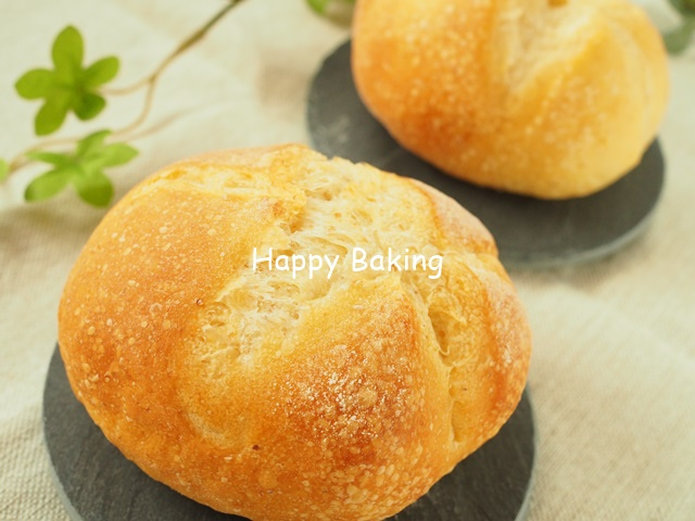 カイザーゼンメルでシンプルサンド♪【フルーツ酵母・自家製天然酵母・パン教室|大阪・奈良】